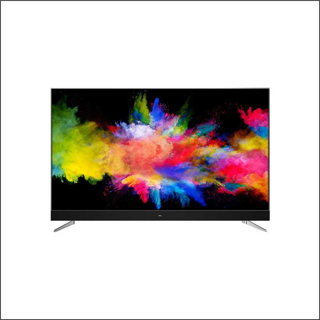 TCL 49 Inch UHD Android TV 49C2US Black