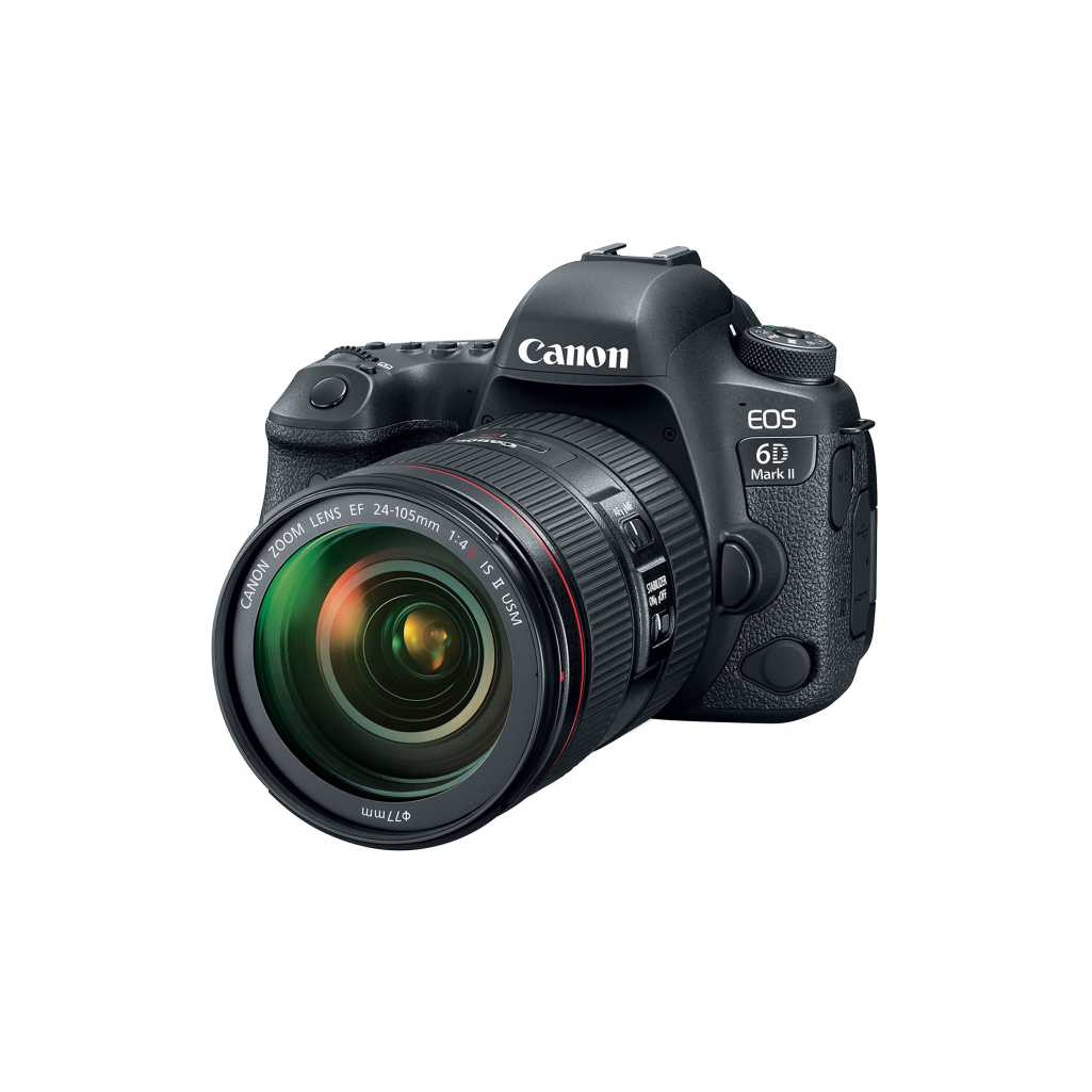 Canon EOS 6D Mark II With EF 24-105mm f/4L IS ii USM Lens